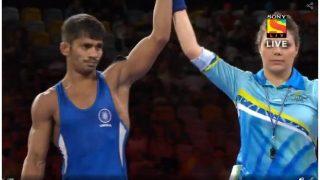CWG 2018: राहुल अवारे के फुर्तीले दांव ने भारत को कुश्ती में दिलाया पहला गोल्ड