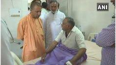 सुल्तानपुर पहुंचे सीएम योगी, जिला अस्पताल का किया निरीक्षण