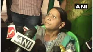 Rabri Devi Writes to Nitish Kumar Over Security Withdrawal; Says 'Don't Know if Lalu Prasad Yadav is Dying of Diseases or Being Killed in Jail'