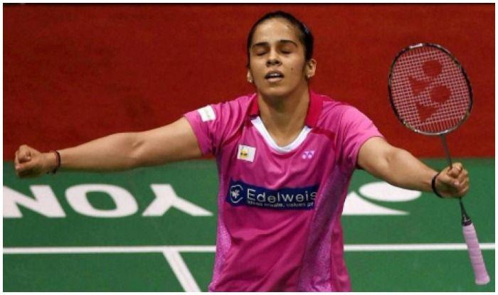 Saina Nehwal clinches gold in Badminton women's singles