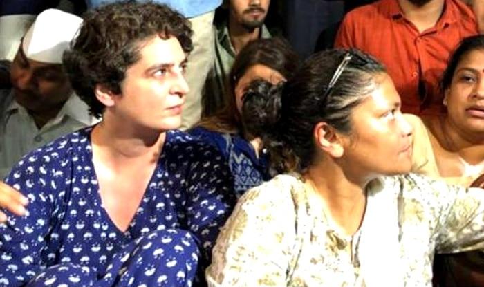 Priyanka Gandhi midnight candle march india gate over kathua and unnao gangrape