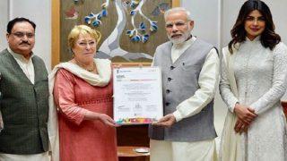 Priyanka Chopra Met PM Narendra Modi And Had An Insightful Conversation - See Post