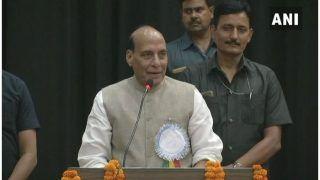 यूपी पहुंचे गृहमंत्री राजनाथ सिंह, कहा- भगवान राम, श्री कृष्ण भी करते थे पॉलिटिक्स