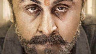 Sanju New Poster : You Might Just Mistake Ranbir Kapoor To Be Sanjay Dutt Due To Their Shocking Resemblance