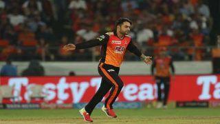 राशिद खान ने हैदराबाद का स्कोर पहुंचाया 170 के पार, कोलकाता को जीत के लिए चाहिए 175 रन
