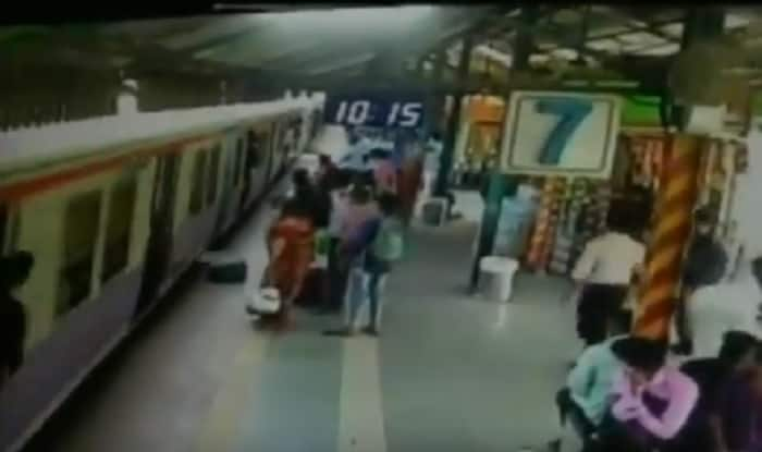 RPF personnel saves woman (ANI)