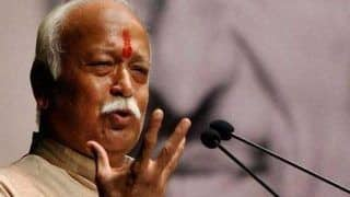 RSS Chief Mohan Bhagwat Rakes up Ayodhya Dispute, Says Ram Temple Should be Built at The Earliest