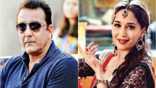 Sanjay Dutt Walks Out Angrily When Asked About Madhuri Dixit - Watch Video