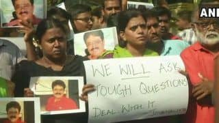 Chennai Journalists Protest at BJP Office Over Party Leader S Ve Shekhar's Derogatory Post on Women Scribes