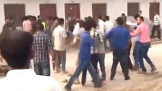 Chinese Workers Thrash Police In Khanewal When Barred From Visiting Red Light Area, Video Doing Rounds On Social Media