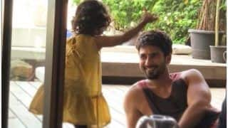 Shahid Kapoor Shares An Adorable Picture Of his Baby Bear Misha, Says 'When You Know Nothing Else Matters'