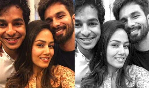 Ishaan and Malavika caught in candid conversation — Uncut