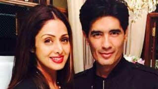 Celebrity fashion designer Manish Malhotra Pays Tribute to Sridevi; Recalls He Spoke to Her on the Day she Died