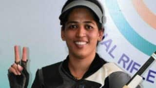 India at CWG 2018: Shooter Tejaswini Sawant Clinches Gold in Women's 50m Rifle 3 Positions; Anjum Moudgil Bags Silver