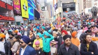 Turban Day in New York: Over 9,000 Sikhs tie turbans in 8 Hours to set a World Record