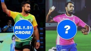 Pro Kabaddi League 2018: Monu Goyat Sold For Rs 1.51 Cr Creates PKL History, 5 IPL Cricketers Who Were Way Cheaper