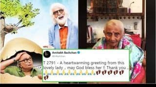 Amitabh Bachchan Is Overwhelmed On Receiving A Message From A 103-Year-Old Fan Ahead Of 102-Not-Out Release - Watch Video