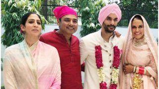 Ajay Jadeja, Ashish Nehra, Gaurav Kapoor Attend Neha Dhupia And Angad Bedi's Wedding - See Pics