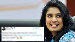 Mithali Raj Has a Solution For Those Feeling a Void Post IPL 2018