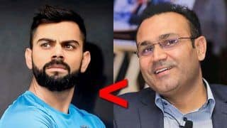 Virender Sehwag Beats Virat Kohli to Bag Top Honours in Fan Survey