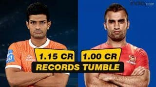 Pro Kabaddi League 2018: Deepak Niwas Hooda Pips Fazel Atrachali to Become Most Expensive Player in PKL 2018 With Rs 1.15 Cr