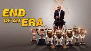 Zinedine Zidane Steps Down as Real Madrid Manager 5 Days After Champions League Triumph