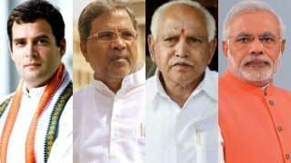 Karnataka Exit Poll 2018 Results by ABP News - C Voter: BJP to Emerge Single Largest Party With 41 Per Cent Vote Share, Congress to Get 39%, JDS 17%