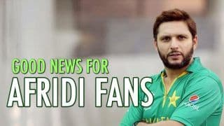 BREAKING: Shahid Afridi to Lead ICC World XI as Injured Morgan Backs Out
