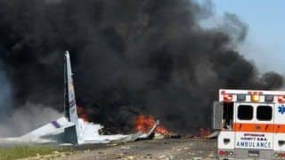 Russian Plane Crash Leaves Two Dead, Dozens Injured