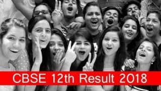 CBSE Class 12th Results 2018: आज आएगा 12वीं का रिजल्ट, ऐसे करें चेक