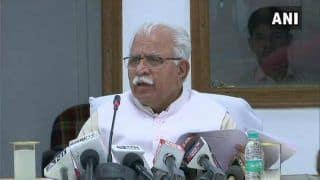In Its First Meet, Haryana Cabinet Hikes Ministers' HRA by 100% to Rs 1 Lakh Per Month