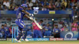 लुईस की हाफ सेंचुरी ने मुंबई का स्कोर पहुंचाया 160 के पार, राजस्थान को मिला 169 रनों का लक्ष्य