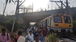 Mumbai: Local Train Services Disrupted on Harbour Line After Technical Glitch