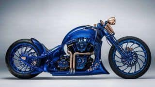 Harley-Davidson Blue Edition, The World's Most Expensive Motorcycle Priced at Rs 12 Crore