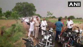 UP: आंधी-तूफान में बाल-बाल बचीं हेमा मालिनी, मथुरा में काफिले के आगे गिरा पेड़