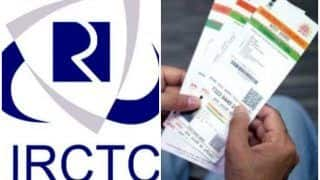 Aadhaar Card Compulsory For Booking Railway Tickets, Separate Column Provided For Details in Revised Reservation Form