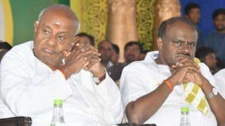 'My Son Was Never Peaceful as Karnataka CM, he Cried': JD(S) Chief Deve Gowda