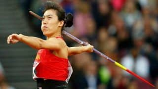 China's Lyu Breaks Women's Javelin Asian Record