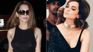 Cannes 2018: Kangana Ranaut Gets Ready To Cast Black Spell On The Red Carpet! View First Pictures