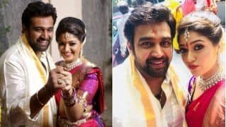 Kannada Stars Chiranjeevi Sarja, Meghana Raj Get Married; Check Out Pics, Videos Of Their Fairy Tale Wedding