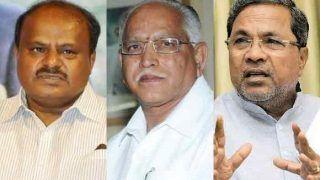 Karnataka Government Formation: BJP's Yeddyurappa Meets Governor; Congress, JD-S Struggle to Keep Flock Together