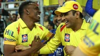 Dhoni Doesn't Behave Like a Superstar at CSK: Bravo