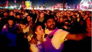 Nayantara, Rumoured Beau Vignesh Shivan Spotted At Caochella Valley Music And Arts Festival In California (View PICS)