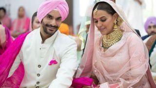 शादी से एक रात पहले बहुत रो रही थी नेहा धूपिया,  खोला 'खौफनाक' राज