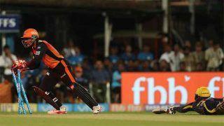 VIDEO: राशिद-साहा के इस रन आउट ने कोलकाता से छीनी जीत