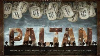 Arjun Rampal And Team Paltan Share A Glimpse Of Their Upcoming Film - See Video
