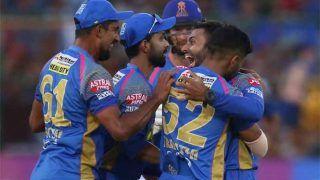 प्लेऑफ की दौड़ से बाहर हुई RCB, राजस्थान ने 30 रन से हराया