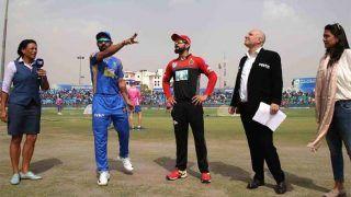 आरसीबी के खिलाफ राजस्थान ने जीता टॉस, प्लेइंग इलेवन में किए तीन बड़े बदलाव