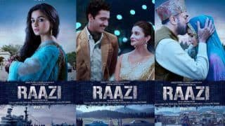 Raazi Box Office Collection Day 3: Alia Bhatt's Film Earns Rs 32.94 Crore In The Opening Weekend