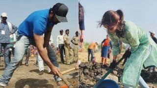 Ranbir Kapoor Follows Alia Bhatt; Does Shramdaan For Aamir Khan's Paani Foundation (PICS, Video)